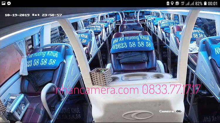 Lắp camera nhà xe Hương Khuê BMT